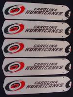 "New NHL CAROLINA HURRICANES 52"" Ceiling Fan BLADES ONLY"