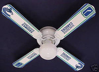 New NHL VANCOUVER CANUCKS HOCKEY Ceiling Fan 42""