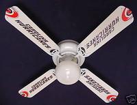 "New NHL CAROLINA HURRICANES HOCKEY Ceiling Fan 42"""