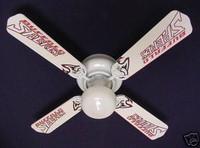 """New NHL BUFFALO SABRES HOCKEY Ceiling Fan 42"""""""