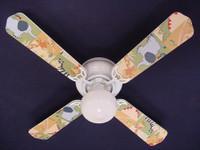 """New KIDSLINE KIDS LINE ZANZIBAR Ceiling Fan 42"""""""