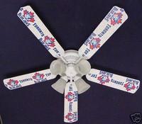 "New MLB TORONTO BLUE JAYS BASEBALL Ceiling Fan 52"""