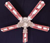 "New MLB ST. LOUIS CARDINALS BASEBALL Ceiling Fan 52"""