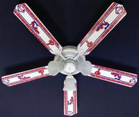 """New MLB PHILADELPHIA PHILLIES BASEBALL Ceiling Fan 52"""""""