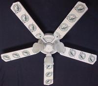 "New MLB FLORIDA MARLINS BASEBALL Ceiling Fan 52"""