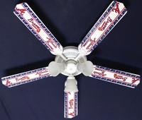 """New MLB ATLANTA BRAVES BASEBALL Ceiling Fan 52"""""""