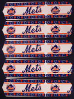"New MLB NEW YORK METS 52"" Ceiling Fan BLADES ONLY"