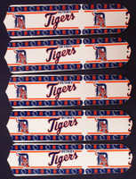 """New MLB DETROIT TIGERS 52"""" Ceiling Fan BLADES ONLY"""
