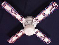 "New MLB DETROIT TIGERS BASEBALL Ceiling Fan 42"""