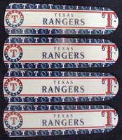"""New MLB TEXAS RANGERS 42"""" Ceiling Fan BLADES ONLY"""