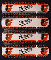 "New MLB BALTIMORE ORIOLES 42"" Ceiling Fan BLADES ONLY"