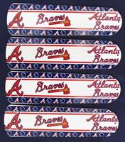 "New MLB ATLANTA BRAVES 42"" Ceiling Fan BLADES ONLY"