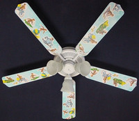 New CURIOUS GEORGE MONKEY Ceiling Fan 52""