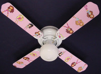 New BRATZ BRATS GIRLS Ceiling Fan 42""