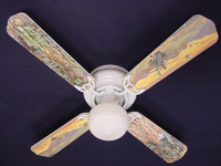 New ARMY TANKS MILITARY HELICOPTER Ceiling Fan 42""