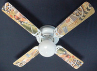 "Hollywood Movie Theater, Film Fest 42"" Ceiling Fan"