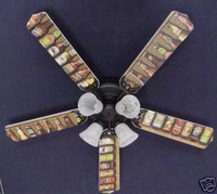 """New BEER BOTTLES LAGER ALE BREWERY Ceiling Fan 52"""""""