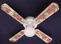 New APPLES APPLE & BIRDS Ceiling Fan 42""