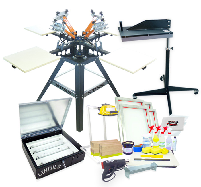 Screen Printing Equipment Kits / Packages