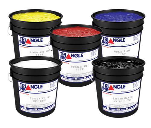 Triangle Plastisol Ink