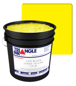 Triangle Plastisol Ink - Low Bleed - Lemon Yellow 1716
