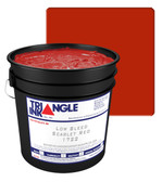 Triangle Plastisol Ink - Opaque Low Bleed - Scarlet 1722