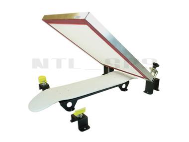 Silk Skates© DIY Skateboard Screen Printing Press - deck and screen not included