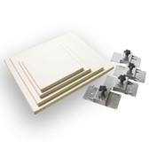 Platen Kit With Brackets - 4 Platens