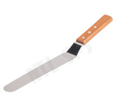 "Flexible Steel Ink Spatula - 9.50"" Offset Blade"
