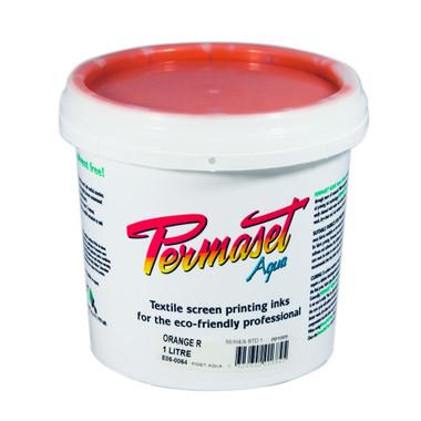 Permaset Aqua Standard Waterbased Ink - Orange R
