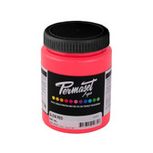 Permaset Aqua Supercover Waterbased Ink - Glow Red