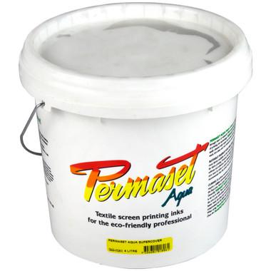 Permaset Aqua Supercover Waterbased Ink - White