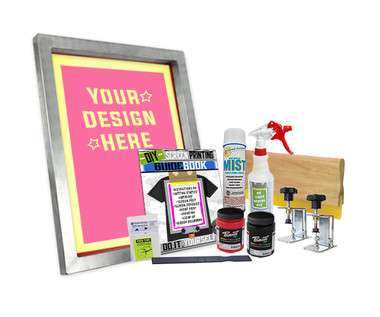 DIY Poster Printing Kit with Pre-burned Screen