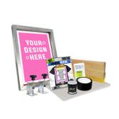 DIY Screen Clamp Kit with Pre-burned Screen