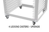 NTL Cart - 4 Pack of Caster Wheels Upgrade