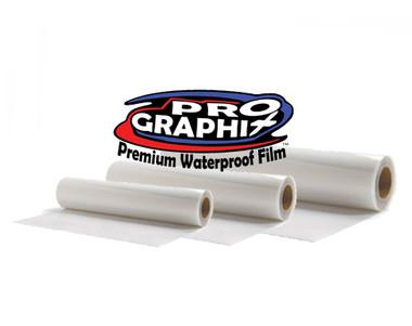 "ProGraphix© Premium Waterproof Inkjet Film - 44""x100' Roll"