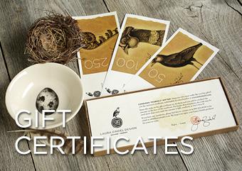 Gift Certificate Laura Zindel Designs