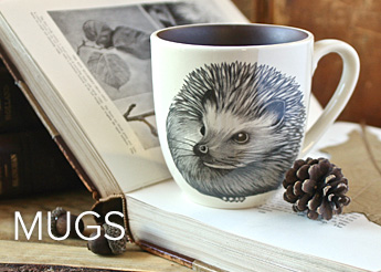 Laura Zindel Mugs