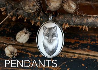 Ceramic pendants Laura Zindel Designs