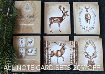 Note Cards by Laura Zindel Design