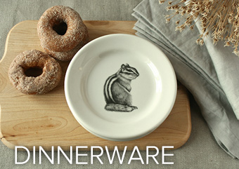 Plates and Dishes by Laura Zindel Design