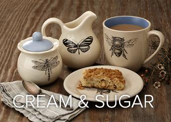 Creamer and Sugar Bowl Laura Zindel Designs