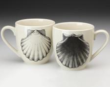 Mug: Scallop (2 views)