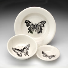 Soup Bowl: Angel Wing Butterfly