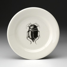 Bread Plate: Black Beetle