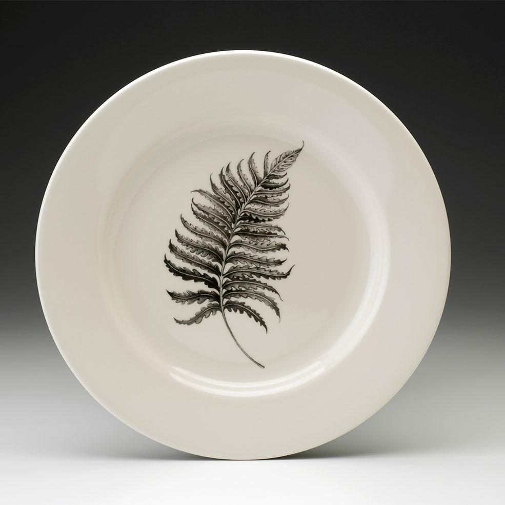 Dinner Plate Wood Fern Laura Zindel Design
