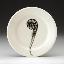 Bread Plate: Coiled Sword Fern