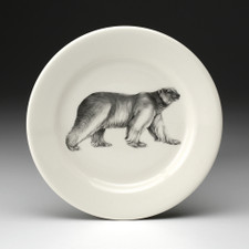 Bread Plate: Walking Bear
