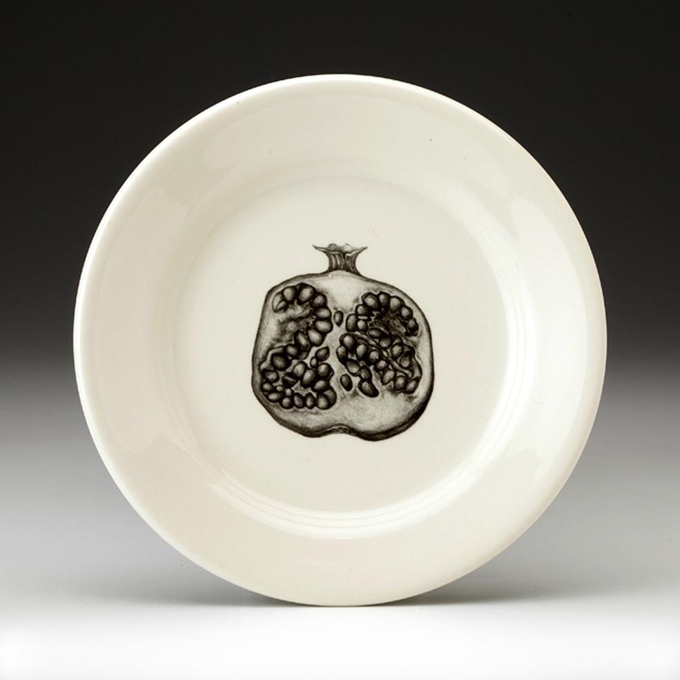 Bread Plate Pomegranate Half Laura Zindel Design