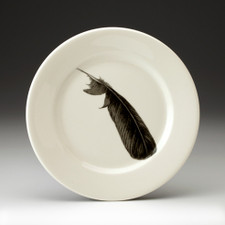 Salad Plate: Crow Feather